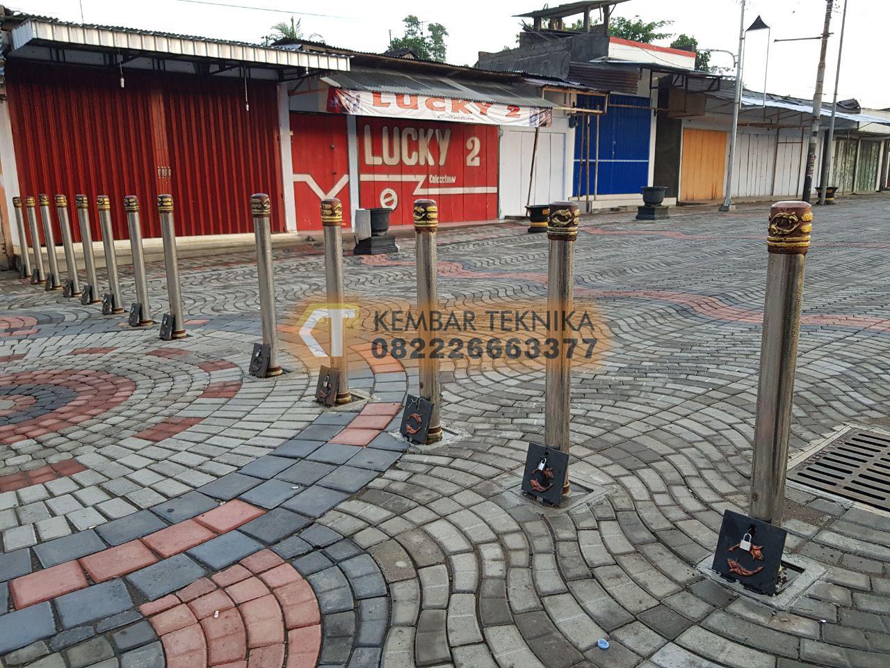 Produsen Bollard Tiang Pembatas Jalan dan Trotoar