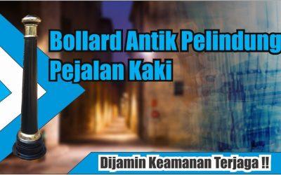Bollard Unik dan Fungsional untuk Trotoar